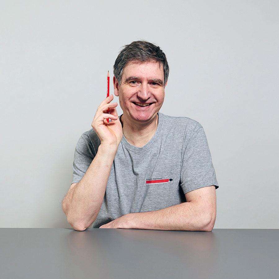 Hansjörg DeJung, Schreiner für Innenausbau bei der Schreinerei Eigenmann AG