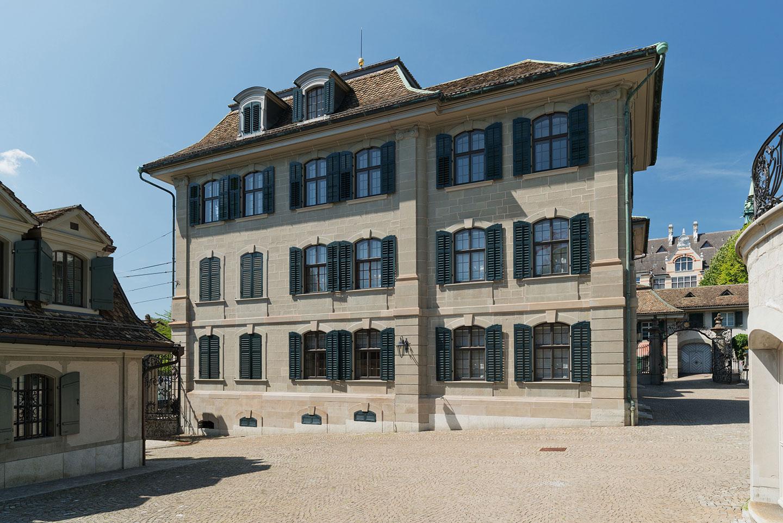 Haus zum Rechberg, Originalfenstersanierung, Holzfenster, Schweiz, Schreinerei Eigenmann