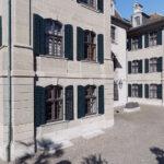 Haus zum Rechberg, Schweiz: Schreinerei Eigenmann Ag hat die Sanierung bauzeitlicher Originalfenster durchgeführt
