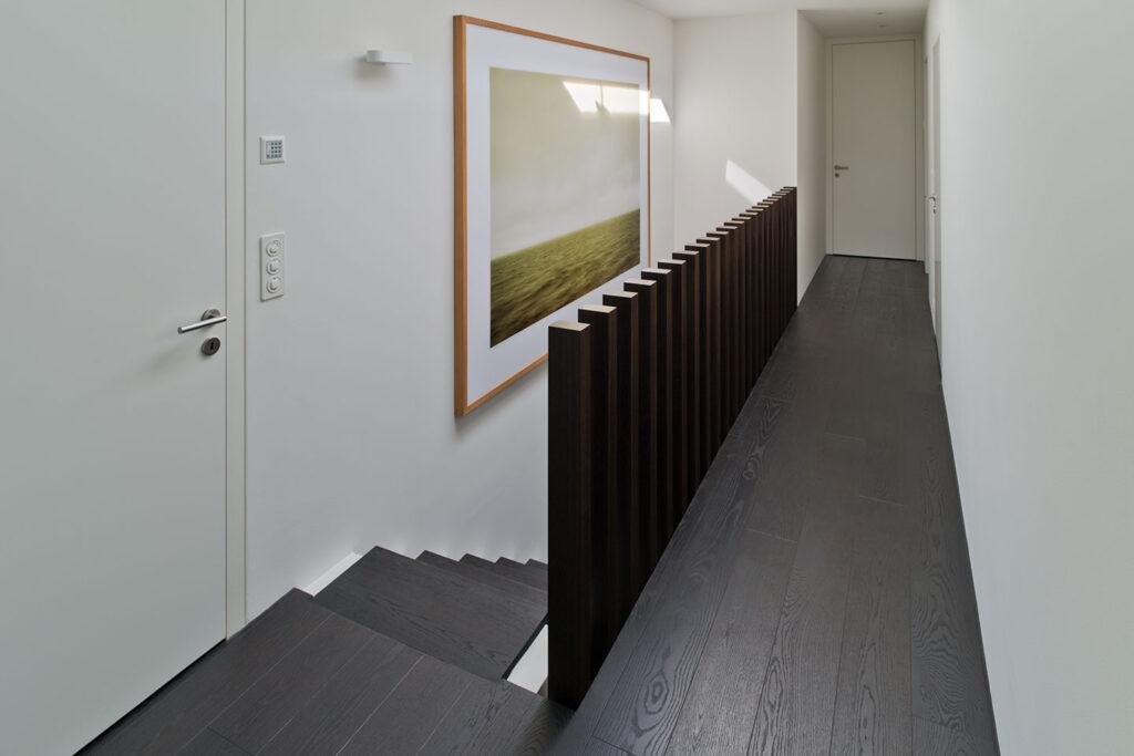 Arbeitsreferenz der Schreinerei Eigenmann: Innenausbau einer Privatvilla in der Schweiz