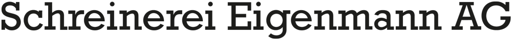 Logo Schreinerei Eigenmann