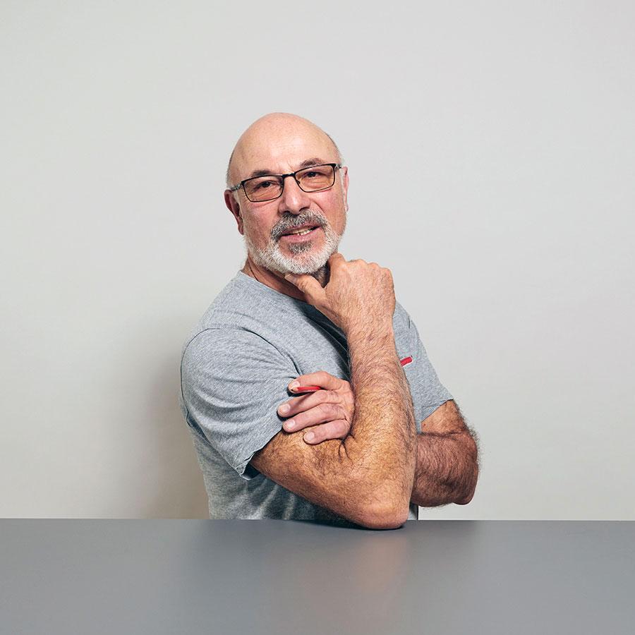Lothar Schupp, Schreiner für Fenstersanierungen bei der Schreinerei Eigenmann AG