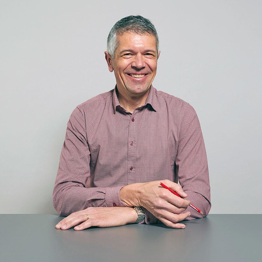Manfred Schirmer, Projektleiter Innenausbau der Schreinerei Eigenmann AG