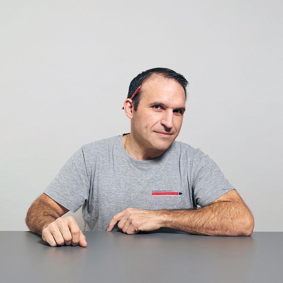 Orazio Votta, Serviceschreiner der Schreinerei Eigenmann AG