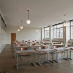 Allgemeine Berufsschule Zürich: Gesamtsanierung bauzeitlicher Originalfenster durch die Schreinerei Eigenmann, Schweiz