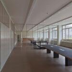 Allgemeine Berufsschule Zürich: Sanierungsarbeiten an bauzeitlichen Holzfenstern durch die Schreinerei Eigenmann AG