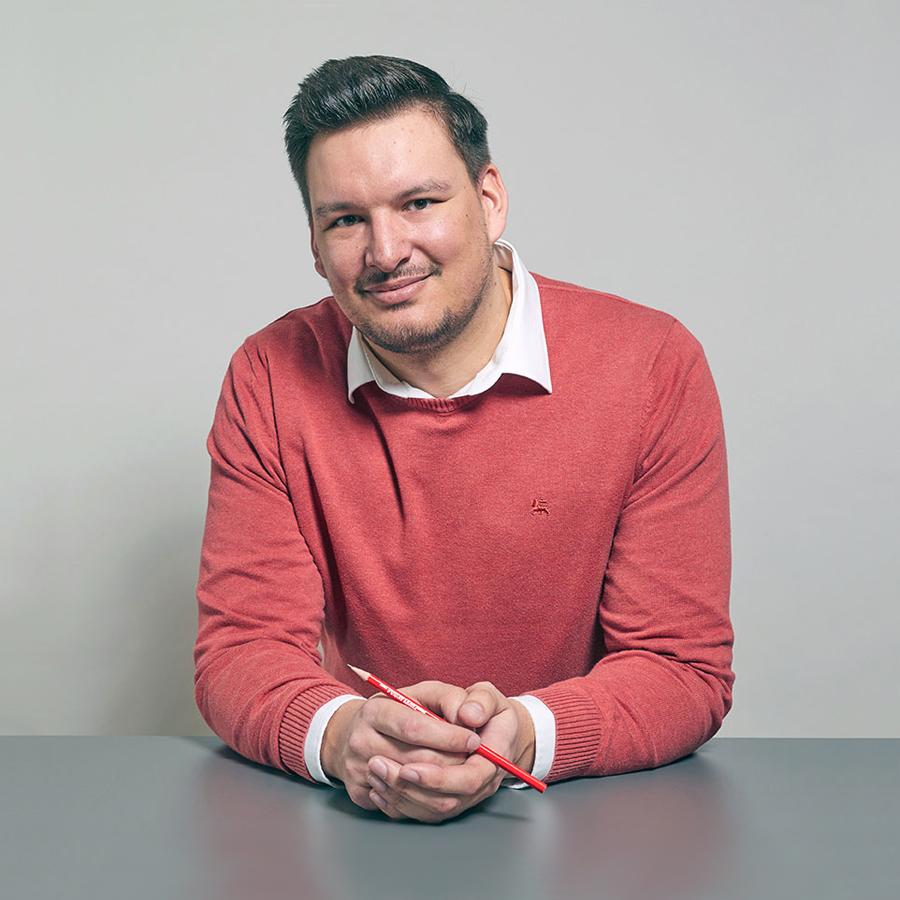 Kevin Frenzel, Projektleiter Fenstersanierung Schreinerei Eigenmann AG