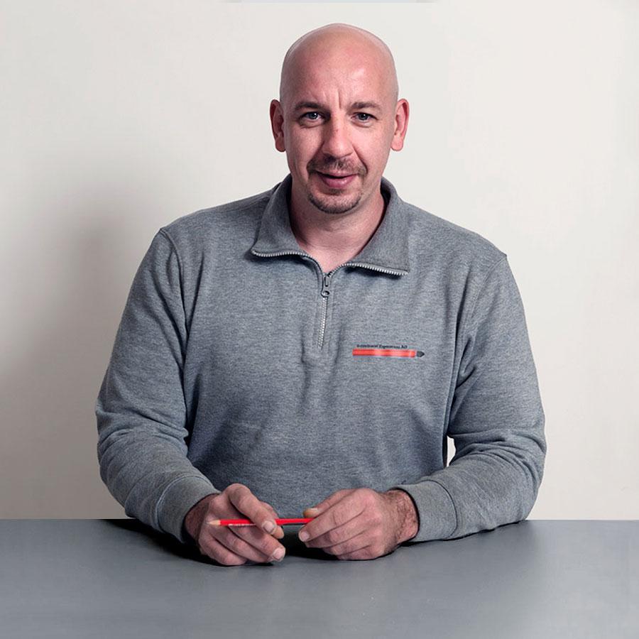 David Dettmann, Schreiner Fenstersanierungen der Schreinerei Eigenmann AG