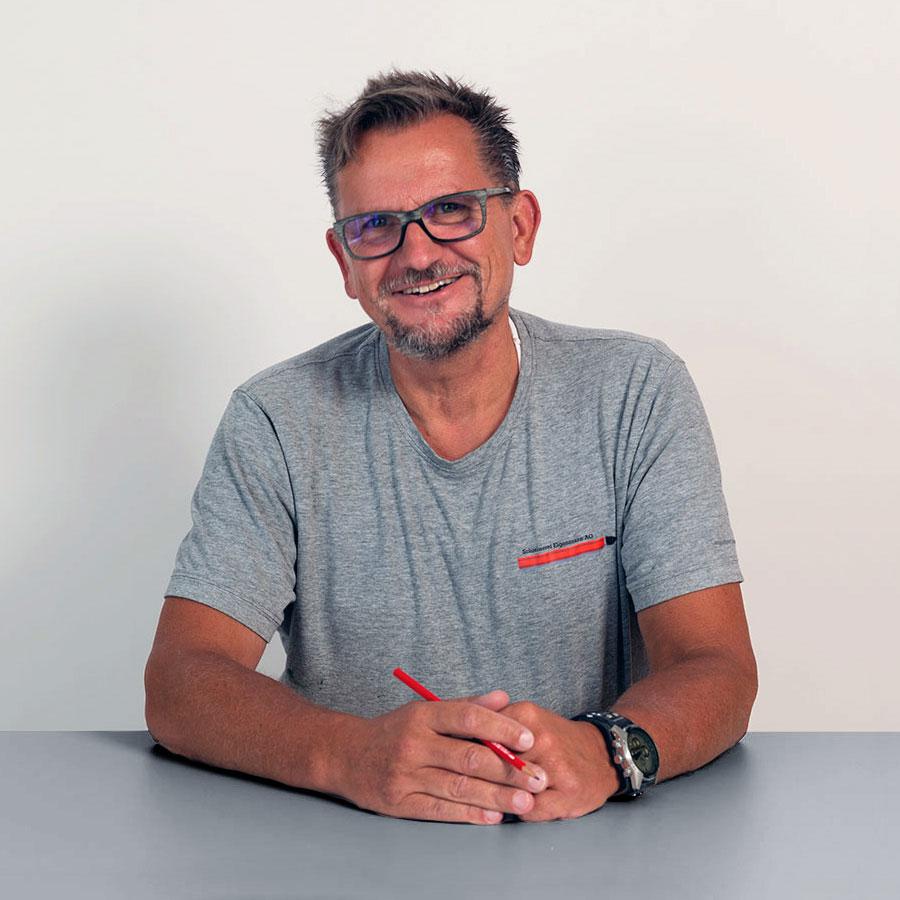 Heiko Holler, Projektleiter Malerei der Schreinerei Eigenmann AG